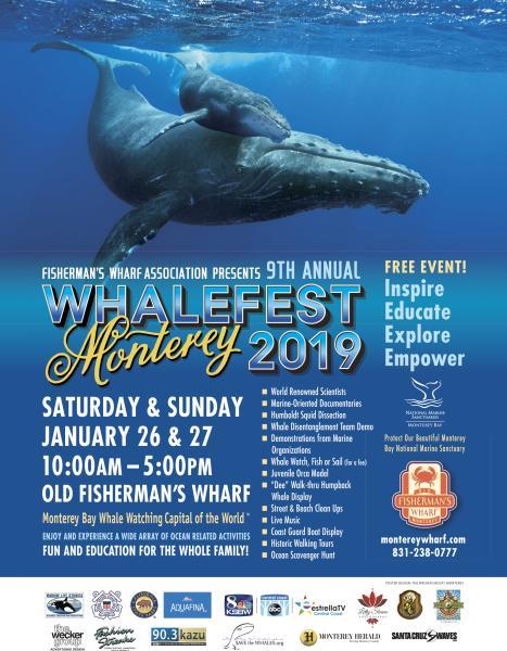 Whalefest flyer