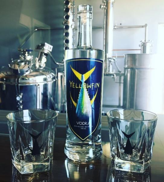 Yellowfin Vodka from Sulphur, LA