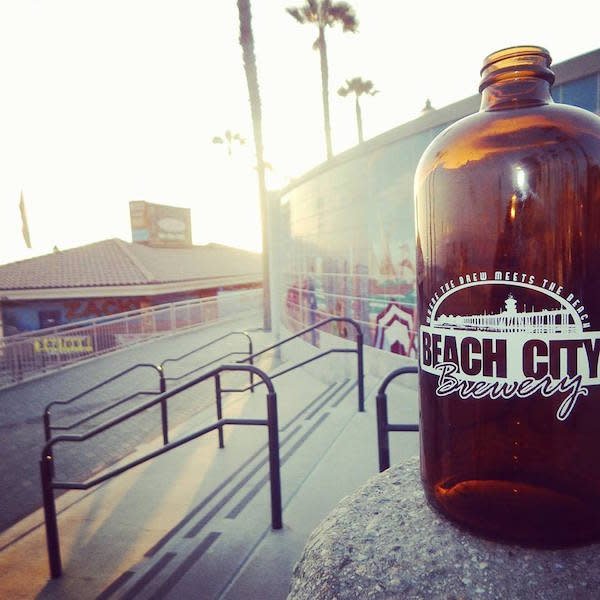 Beach City Brewery Growler