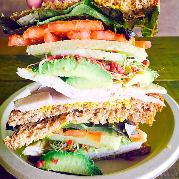 Best Seller Turkey Avocado Sandwich