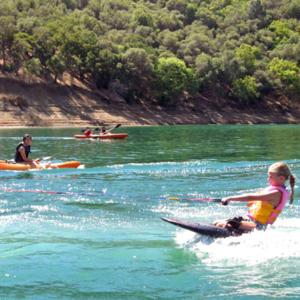 Lake Berryessa Knee Board