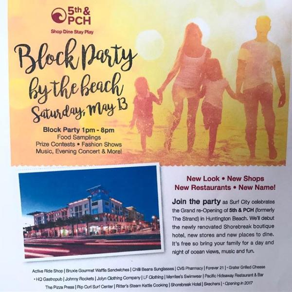 5th & PCH Block Party