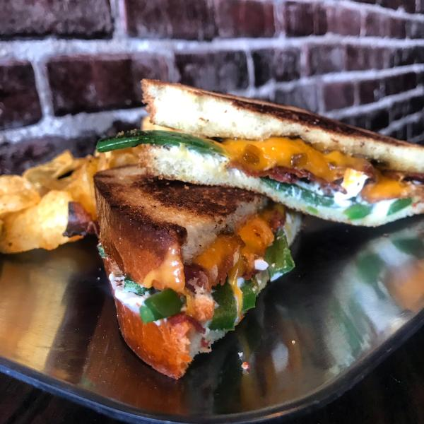 Wheel Barrel Grilled Cheese