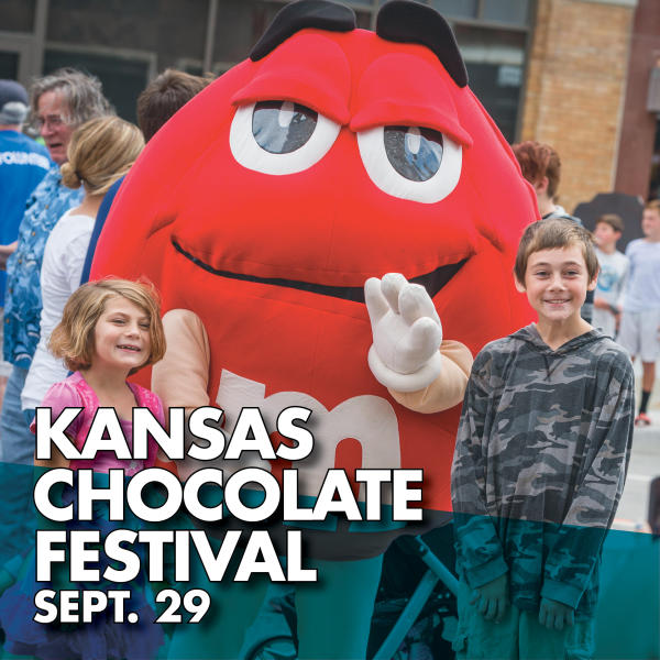Kansas Chocolate Festival Sept. 29