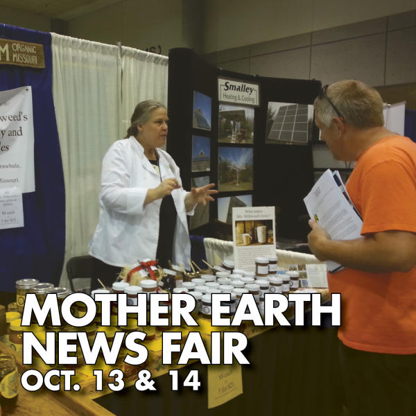 Mother Earth News Fair Oct. 13 & 14