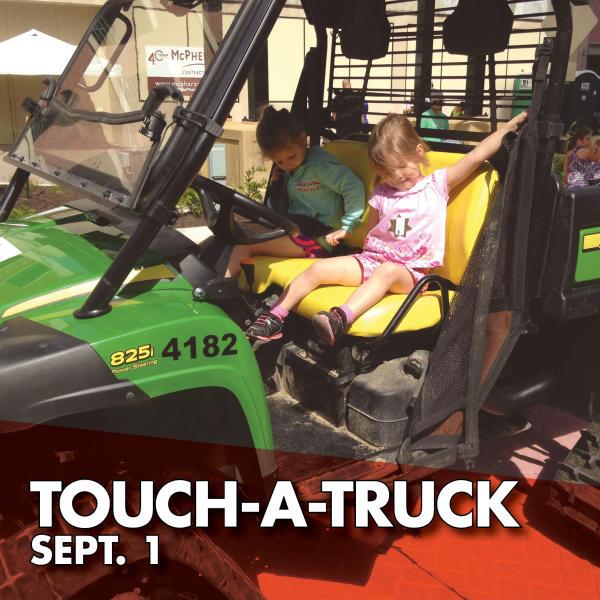 Touch-A-Truck Sept. 1