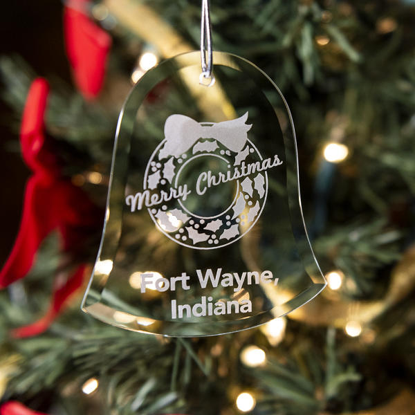 Fort Wayne Visitors Center Christmas Ornament 2018