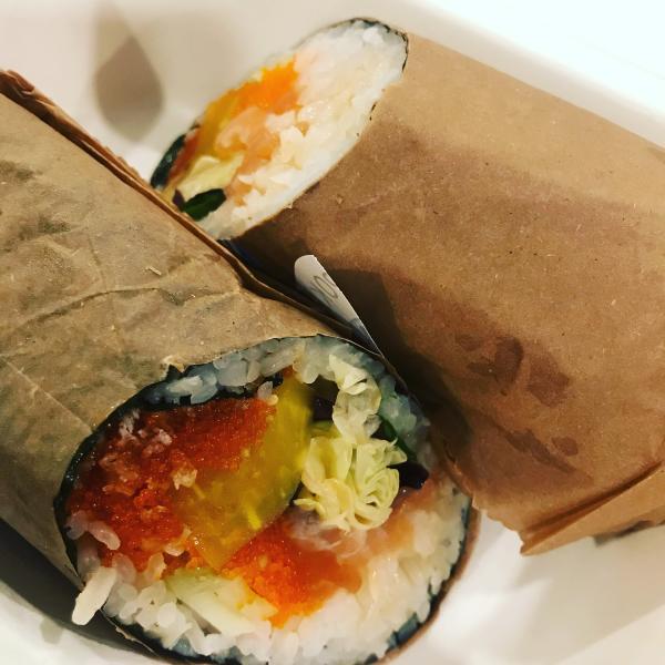 AA Poke Sushi Burrito