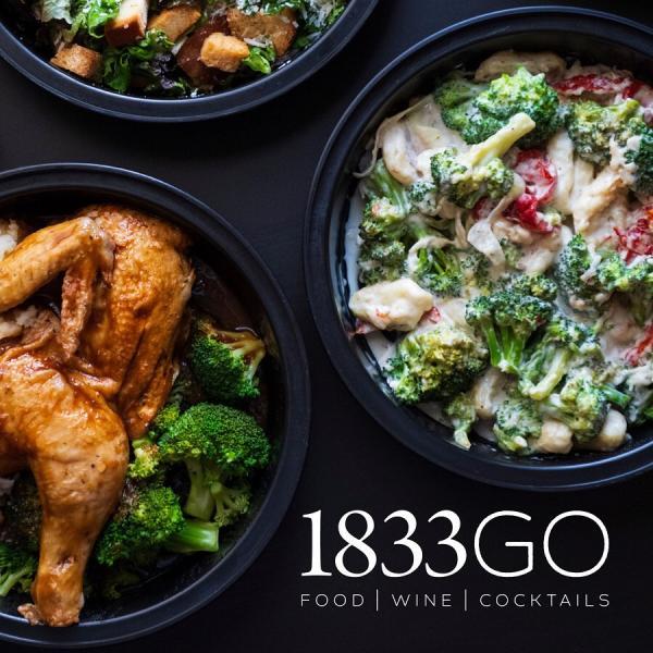 1833GO - FOOD WINE COCKTAILS