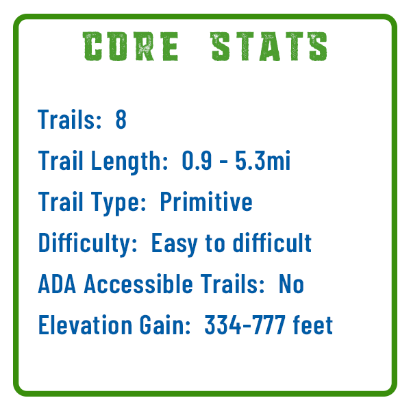 Boyd Big Tree Core Stats
