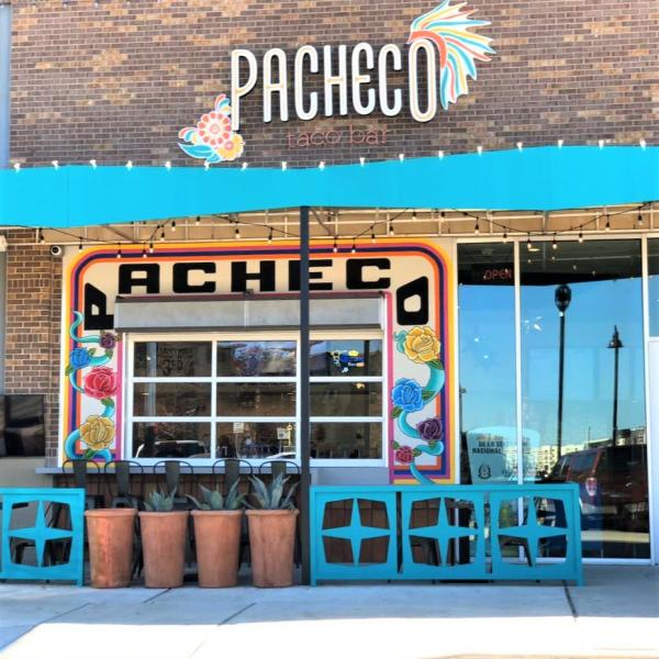 Pacheco Taco Bar features great food with a fun atmosphere.