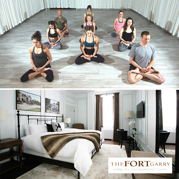 Fort Garry Hotel yoga package