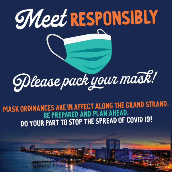 Meet Responsibly Please Pack Your Mask
