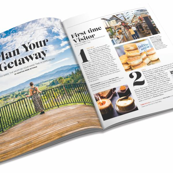 2019 Napa Valley Visitor Magazine Interior