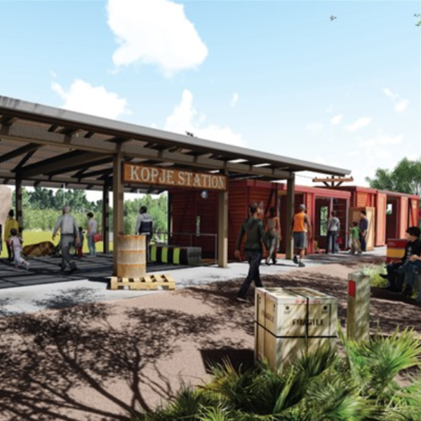 Audubon Zoo Lion Exhibit rendering