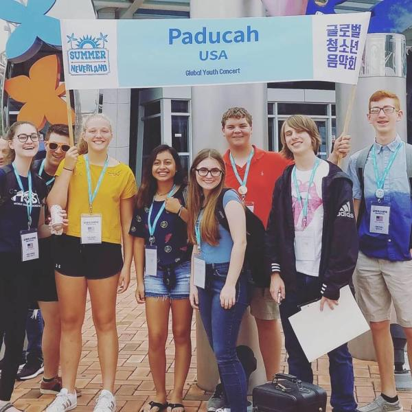 Paducah Delegation - Global Youth Orchestra