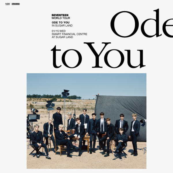 SEVENTEEN: Ode to You Tour