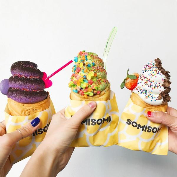 Ice cream from Somi Somi