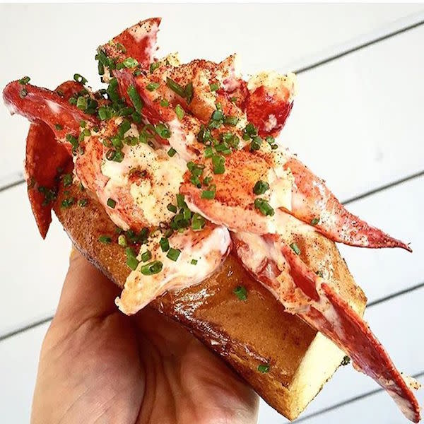Lobster Roll photo by @cy_eats