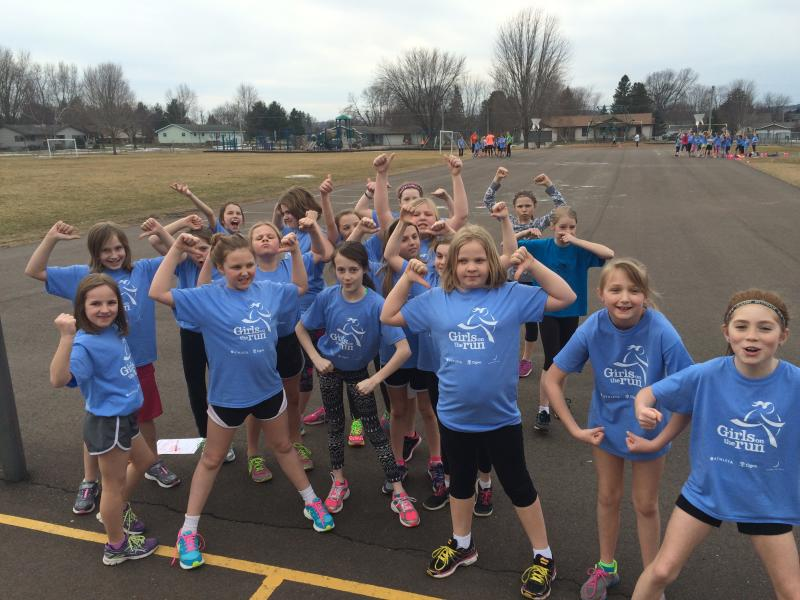 Girls On The Run - Photo by: GOTR Council Director Kim Gillett.