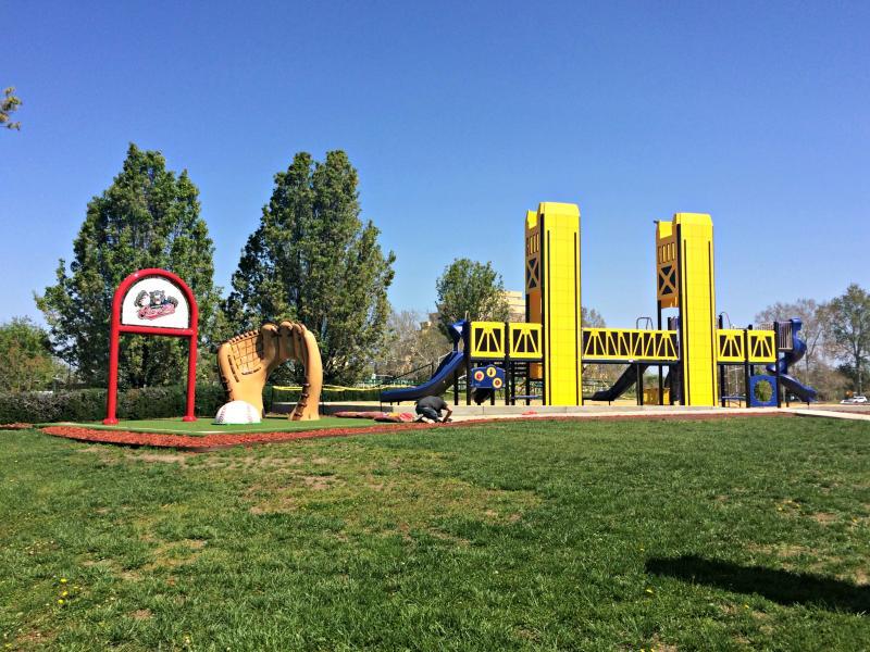 New Kids Zone at Sacramento's Raley Field