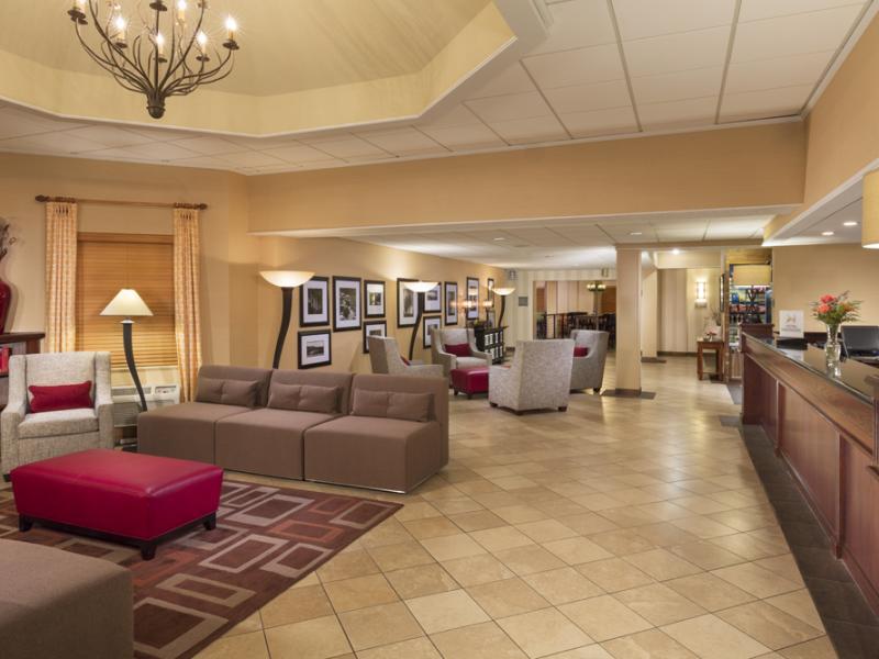 Doubletree lobby
