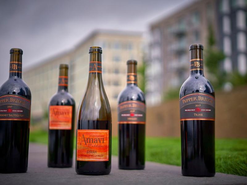 Amavi & Pepperbridge Wine
