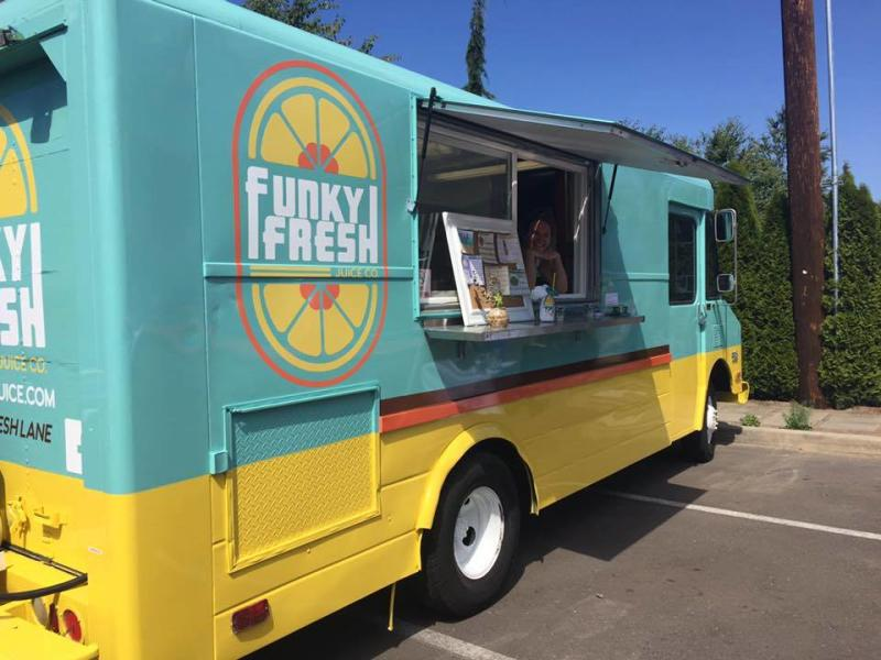 funky fresh food truck