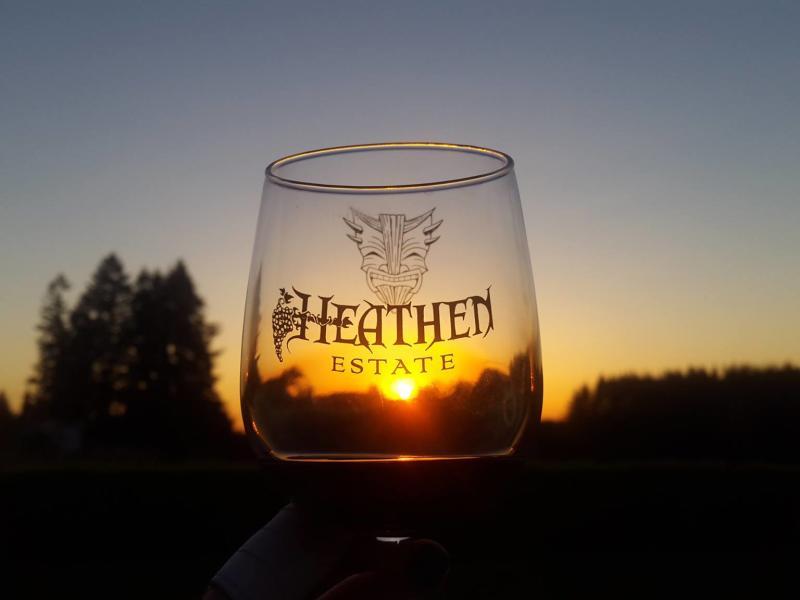 heathen estate wine