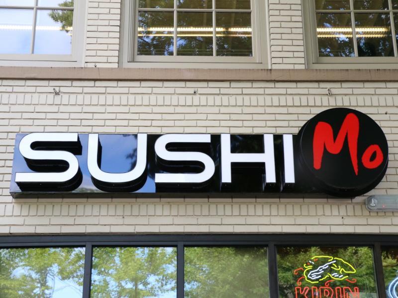 sushi mo sign