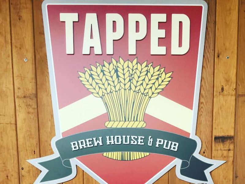 tapped sign