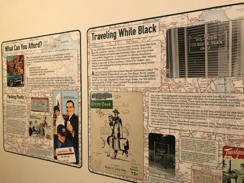 Road Trip Exhibit at the Elmhurst History Museum