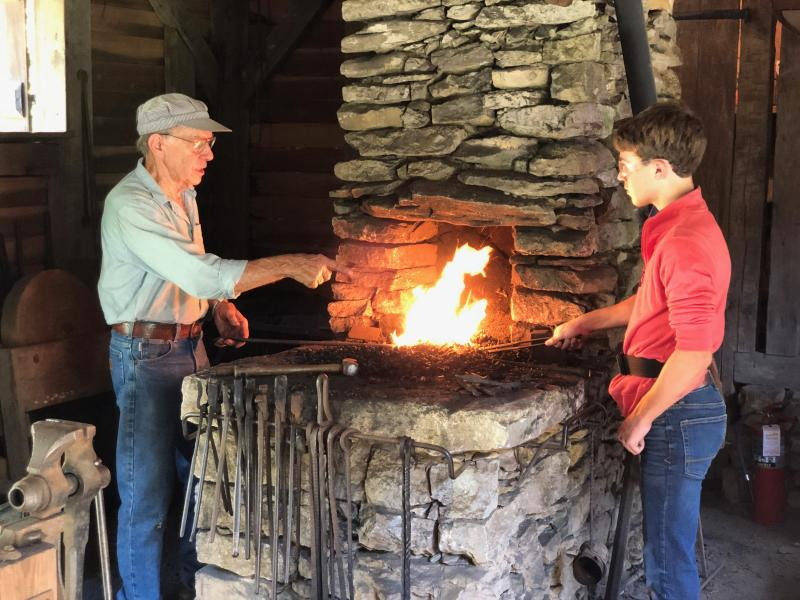 Burritt Blacksmith