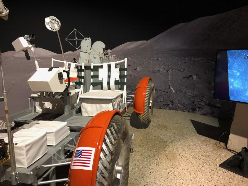 Apollo 50 Exhibit When We Went To The Moon