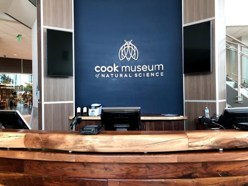 Cook Museum Front Desk