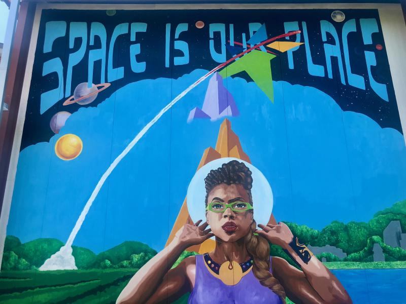 We've Got Space Mural