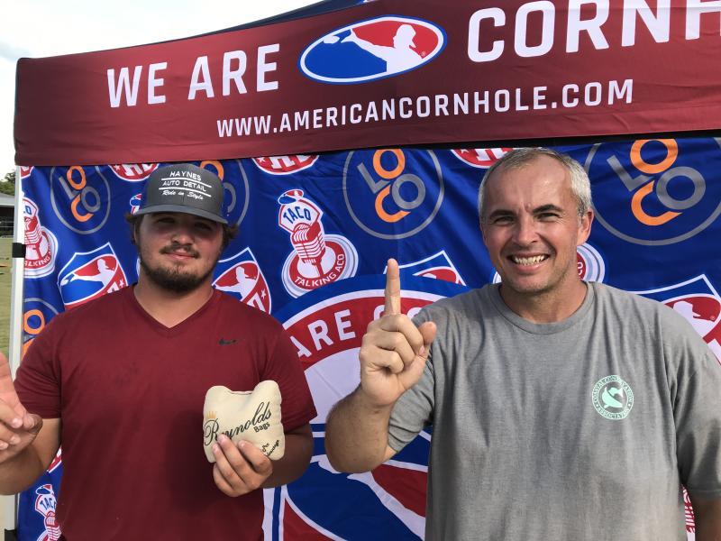 cornhole tournament champions