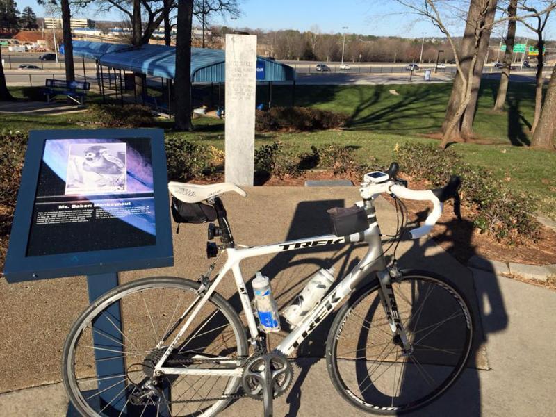 US Space and Rocket Center Baker Grave Bike