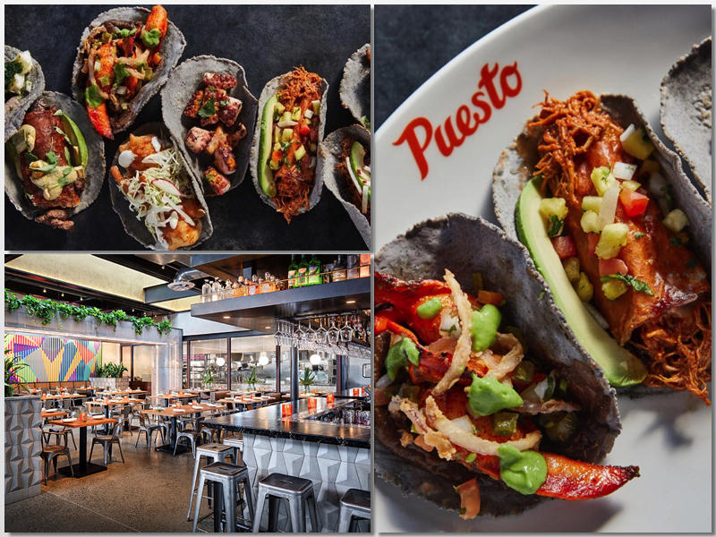 Dishes at Puesto in Irvine