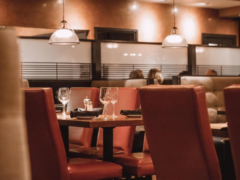 Del Friscos Irvine Table