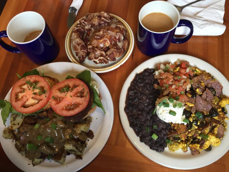 Morning Glory breakfast by Melanie Griffin