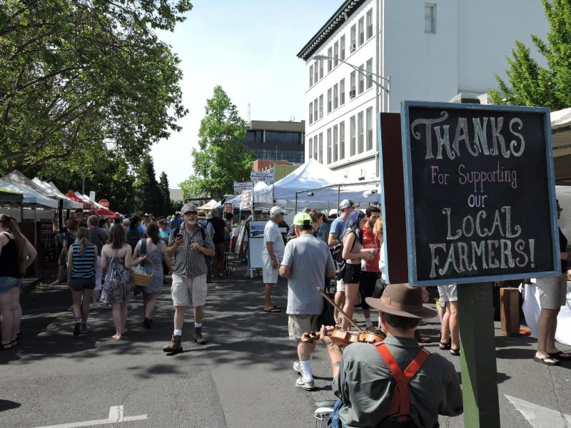 Farmers Market by Laura Keir