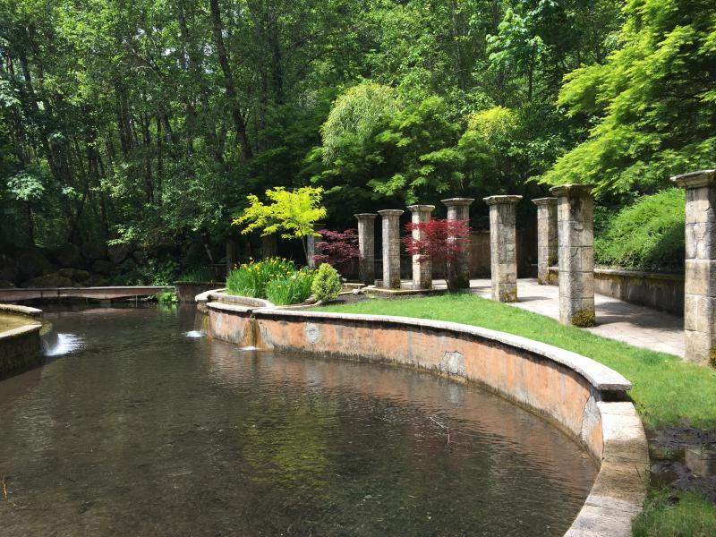 Belknap Hot Springs Resort's Secret Garden by Sally McAleer