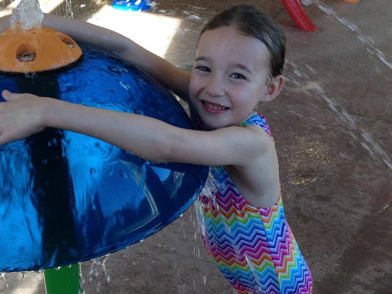 Driftwood Shores Pool Fun by Taj Morgan