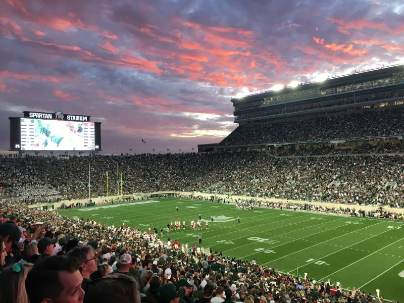 Spartan Stadium 2017 Sunset