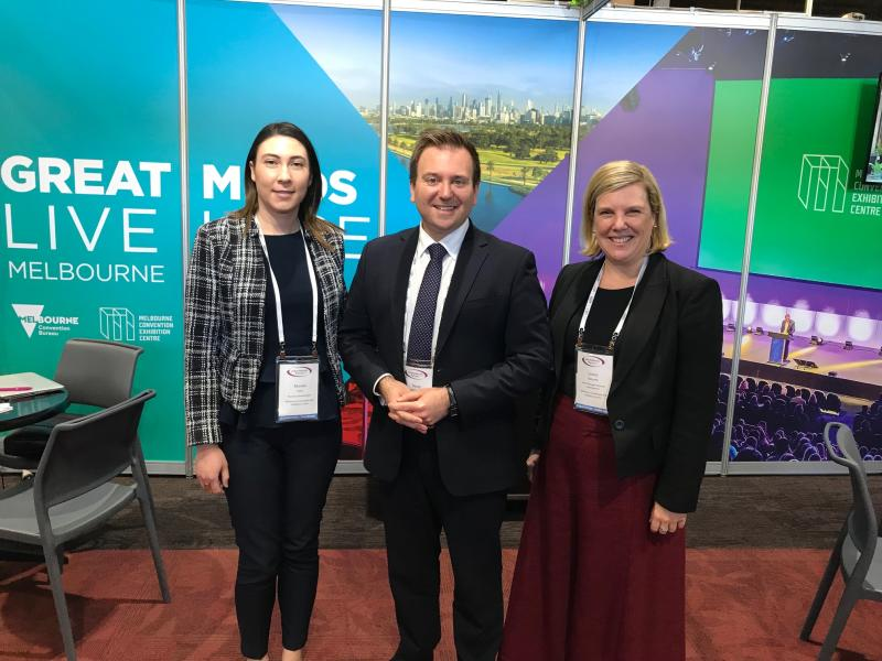 MCB and MCEC at the 2019 Associations Forum National Conference (AFNC) in Canberra, July 19