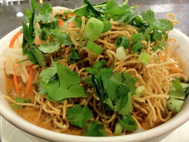 Veggie dish on plate