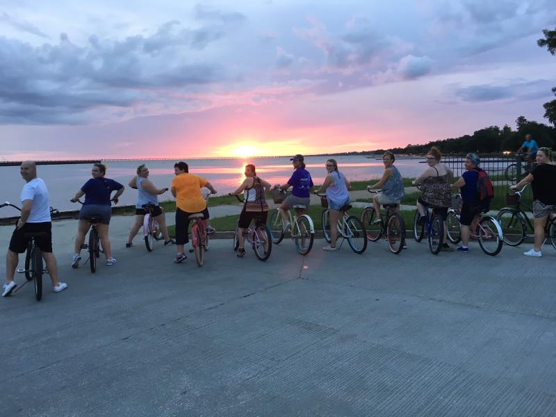 Biking Group, Mandeville Lakefront