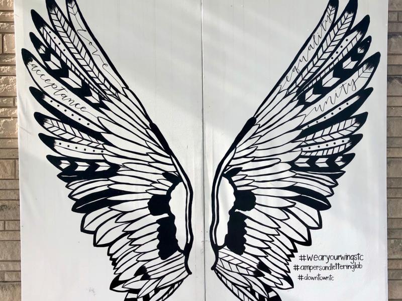 Wings Mural TC