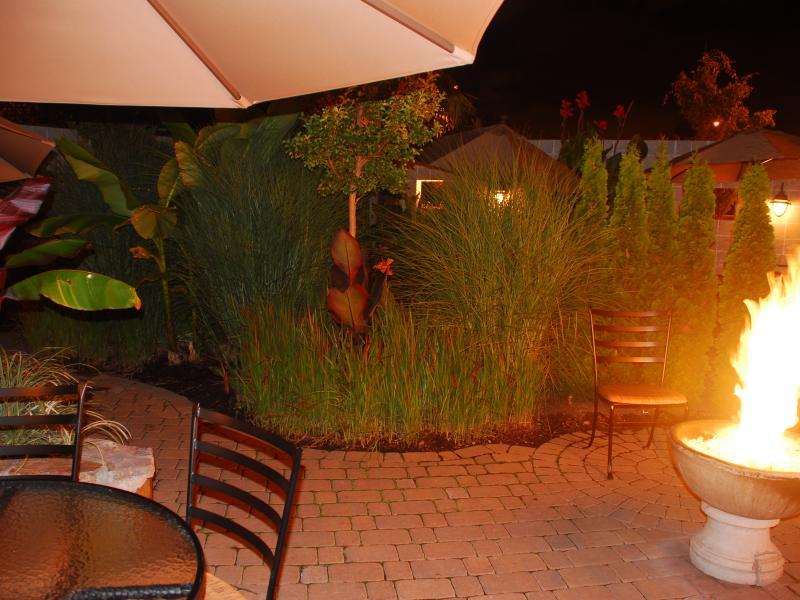 vinotopia outdoor fire